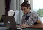 ROGER FEDERER SKYPES WITH LINDSEY VONN – Viral Campaign